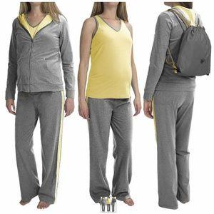 Belly Basics Yoga Maternity 4-Piece set NWT